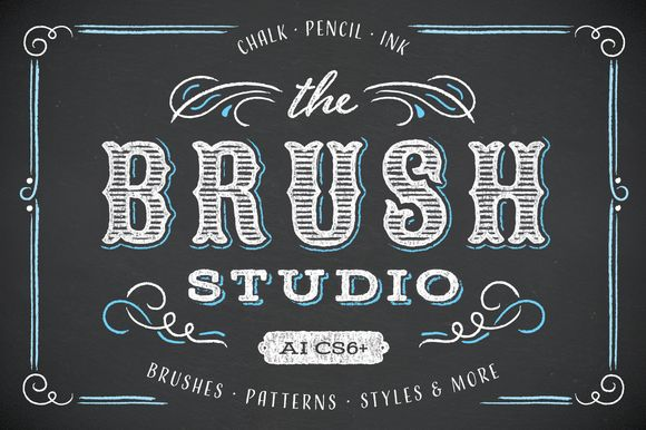 The Brush Studio-Intro Offer [-25%] by Ornaments of Grace on Creative Market
