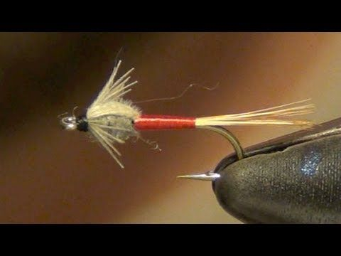 Barr's Micro Emerger Fly Tying Instructions and How To Tie Tutorial - YouTube