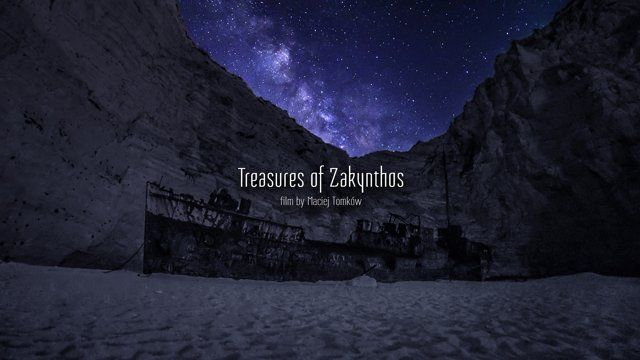 """""""Treasures of Zakynthos"""" is a film completed in its entirety using the timelapse cinemtography technique in the most beautiful parts of the Greek island."""