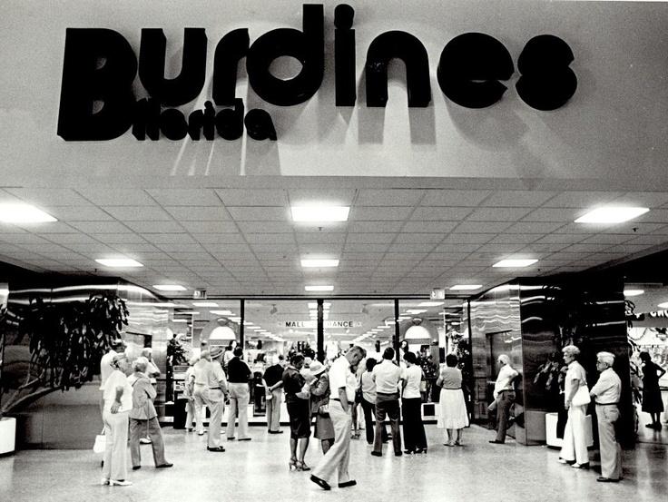 Burdines clothing store