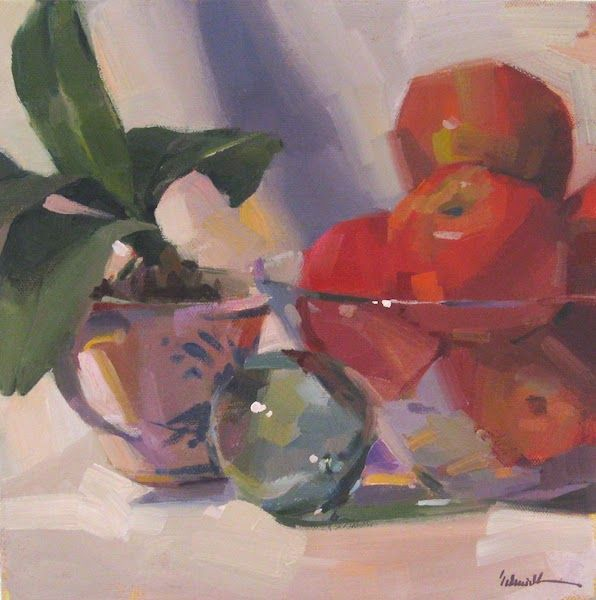 Sedwick Studio Purple Bowl Of Plums Fruit Bowl Still: 79 Best Still Life With Apples Images On Pinterest