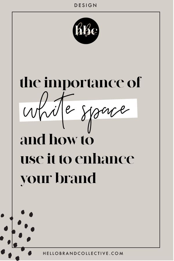 The Importance Of White Space And How You Can Use It To Enhance Your Brand Web Design Quotes Fun Website Design Article Design