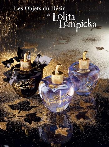 Lolita Lempicka always has the most desirable bottles <3