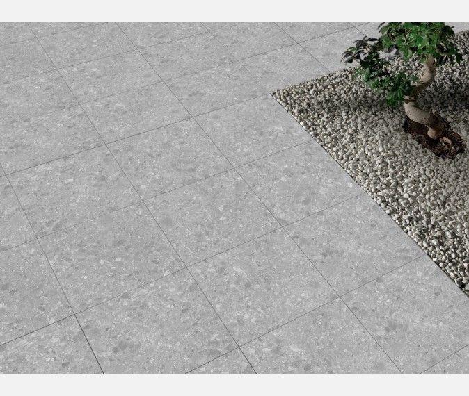 Terrazzo Grey Outdoor Porcelain Slab Tiles Terrazzo Tiles