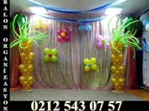 Her türlü organizasyonlarınıza çeşitli balonlarımızla yapacağımız süslemelerle müşterilerimizi memnun etmeye devam ediyoruz.