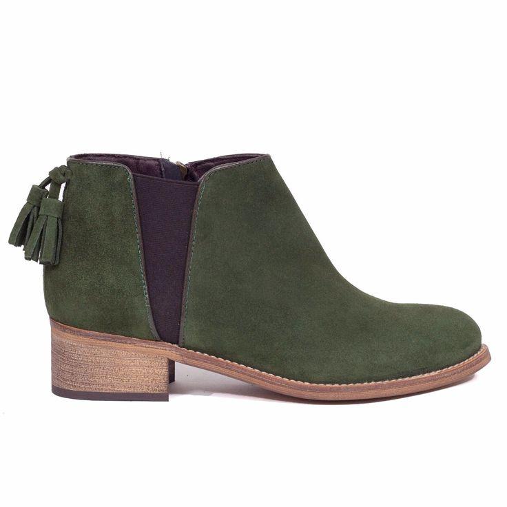 Botin Chelsea Verde – miMaO ShopOnline