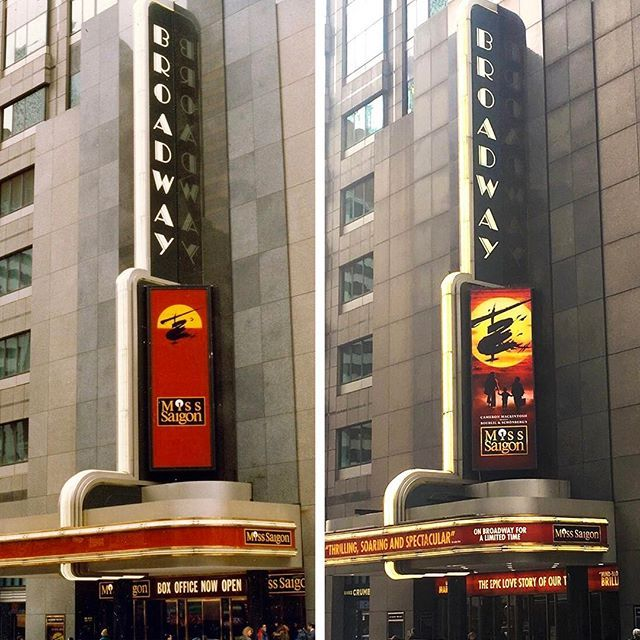 1989 vs. 2017 Who's excited for the epic return of @misssaigonus?!
