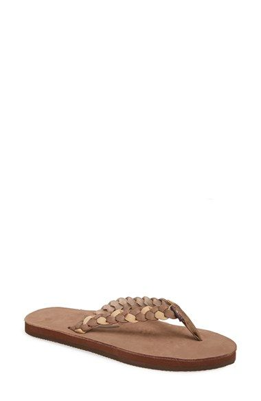 Rainbow+'Twisted'+Flip+Flop+(Women)+available+at+#Nordstrom