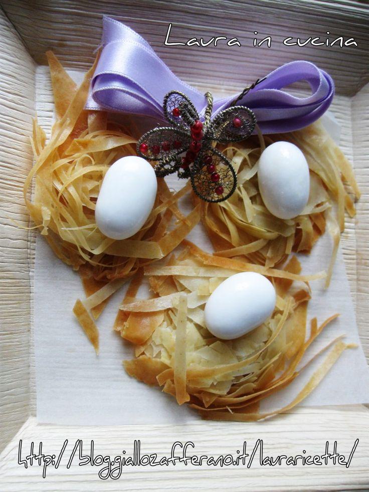 nido di uova pasquali -decorazioni