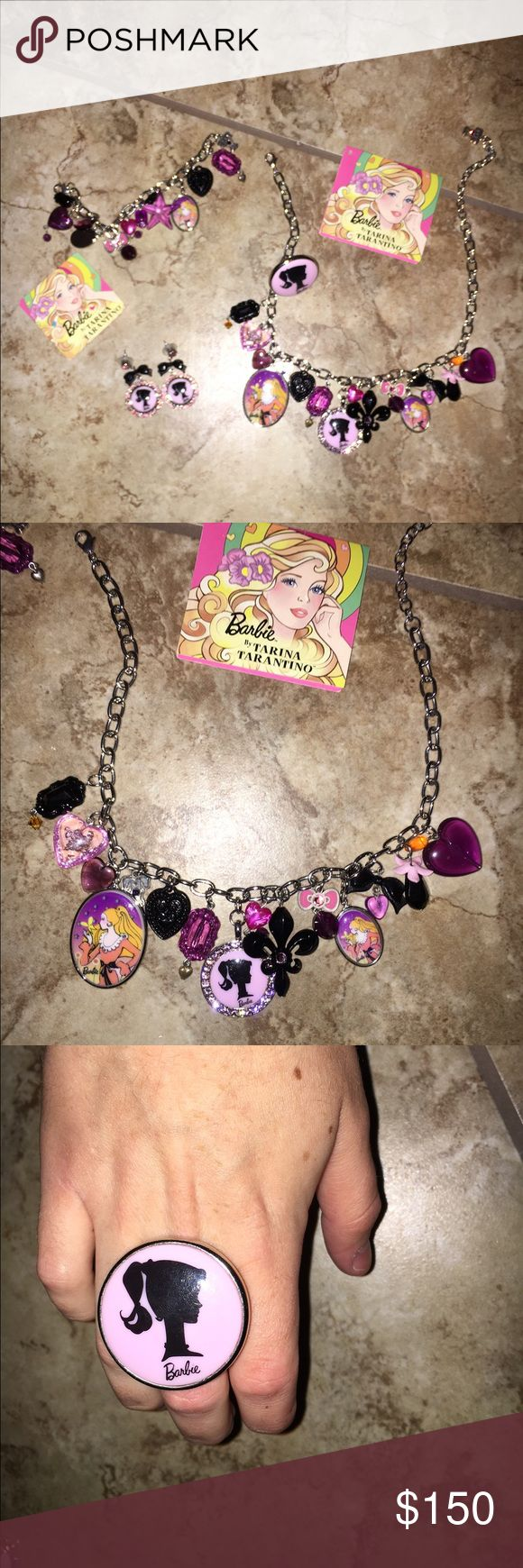 Tarina Tarantino Barbie set This limited edition set is so cute inspired by 1950s Barbie comes with every piece Tarina Tarantino Jewelry