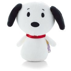 Charlie Brown's beagle friend, Snoopy, is awfully charming in this tiny version of himself. Hallmark's itty bittys® plush are so fun to collect that you'll want to own each and every one of these perfectly-sized companions.