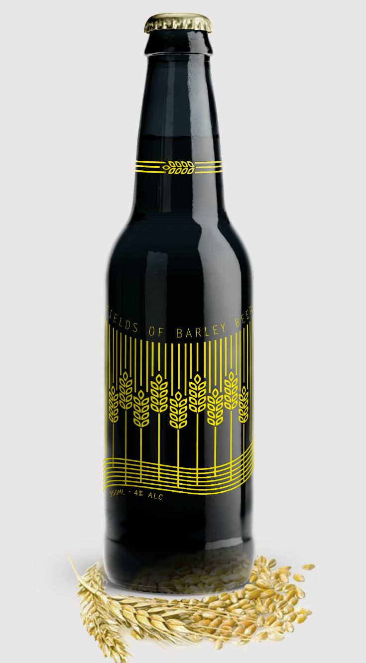 Swedish Craft #Beer Brand #Design #Packaging Concept Designed by: Frank & Phoenix⠀  Project: Bottle design (Concept)⠀ ⠀  Category: #beer #drink World Packaging Design Society