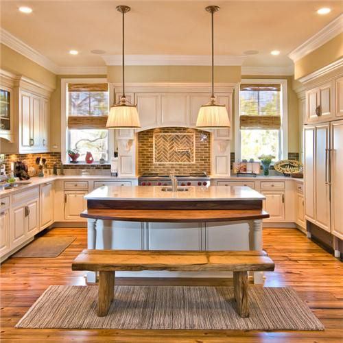 Lorraine Vale   Traditional   Kitchen   Charleston   LORRAINE G VALE,  Allied ASID Table Height Counter Is Good For Wheelchair