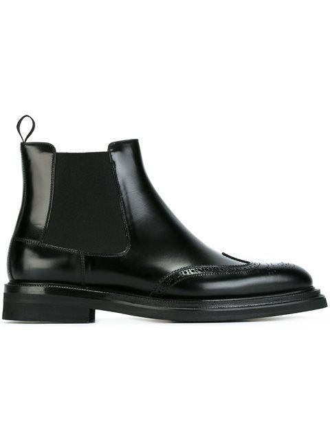 Купить Church's ботинки-челси с перфорацией.