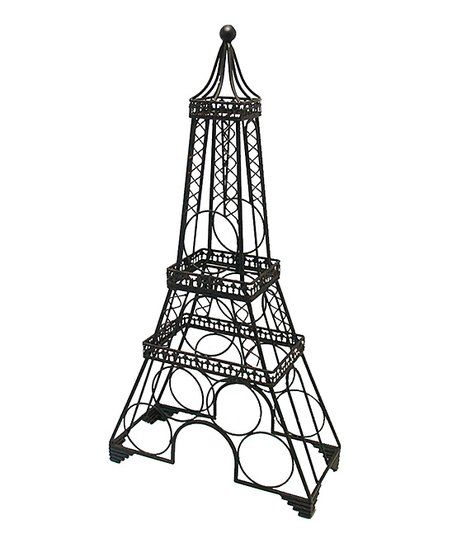 Home Essentials and Beyond Black Eiffel Tower Wine Rack | zulily