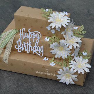 Stampin`Up! Gänseblümchen,Gänseblumen Daisy Delight Geschenketorte