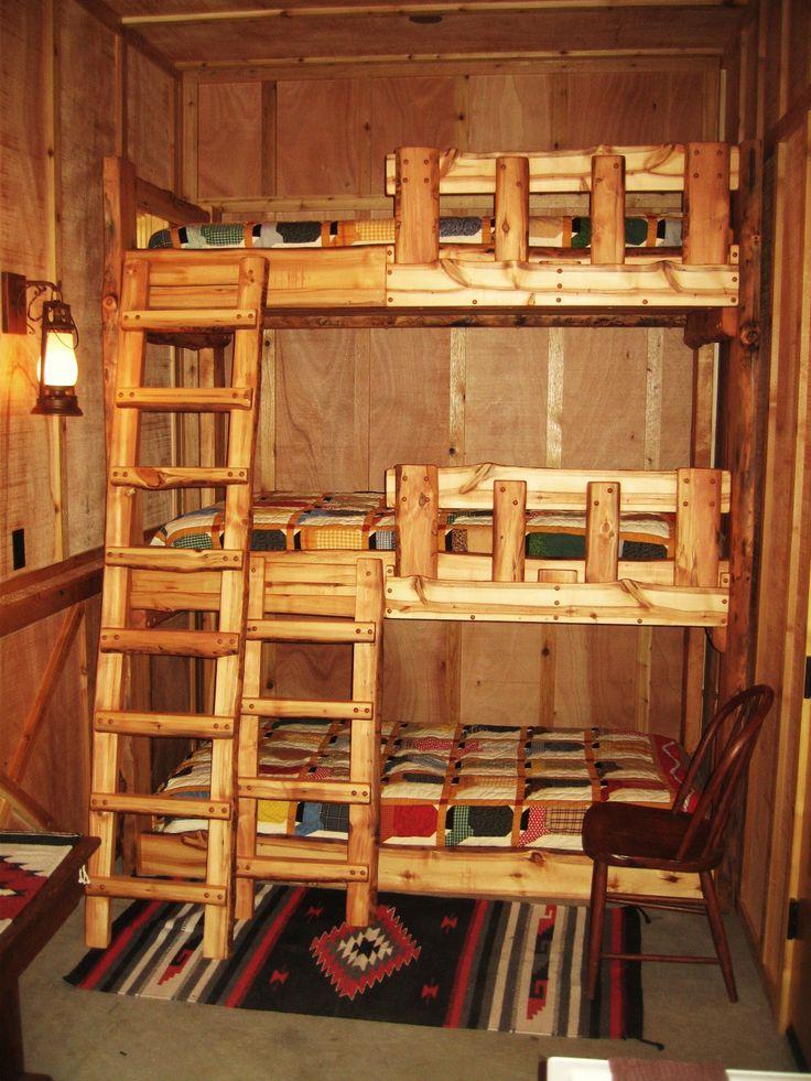 Rustic Loft Bunk Bed