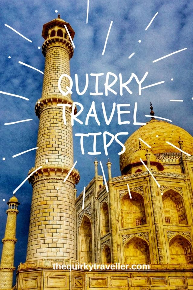 The Quirky Traveller Travel Tips of the Year for inspiration and armchair travel