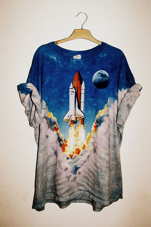 http://www.shadowplaynyc.com/collections/tee-shirts/products/space-shuttle-tee #tee #fashion #cool