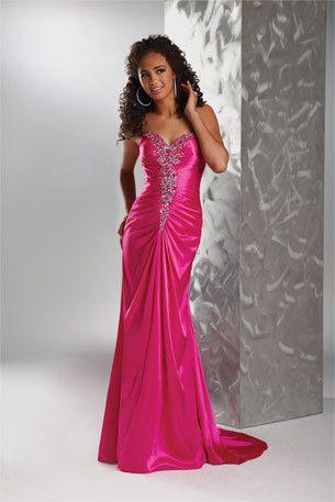 Flirt by Maggie Sottero P4556 Pink Royale Size 10 open back prom dress, evening dress
