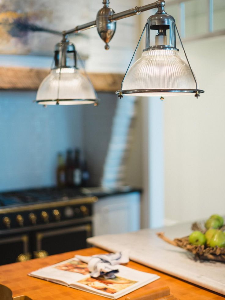 Fluted Glass Detail Is Found In Many Antique Fixtures And Can Add A Sense  Of History Or Period Appropriate Architecture Above A Kitchen Island.