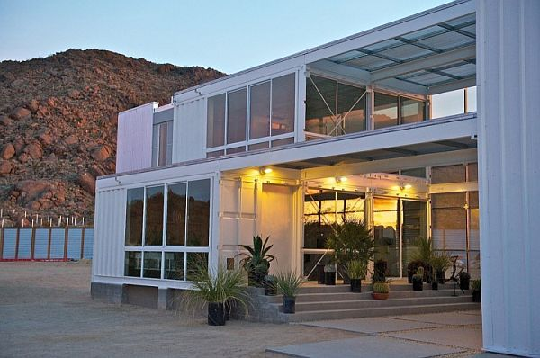 22 Most Beautiful Houses Made from Shipping ContainersHouse Design, Container Homes, Mojave Deserts, Ships Container House, Architecture, Modern House, Ships Container Home, Shipping Containers, Storage Container