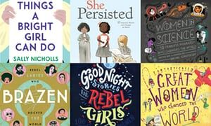 Read like a girl: how children's books of female stories are booming. Good Night Stories for Rebel Girls and Fantastically Great Women Who Changed the World are just two of a raft of inspirational titles changing bedtime reading