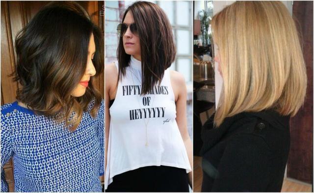 Fryzury bob dla krótkich i długich włosów