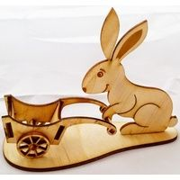 Wooden Bunny 3D Puzzle