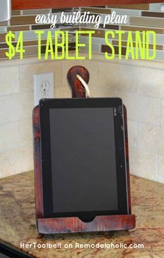 If you happen to like cooking utilizing on-line recipes a pill holder or Ipad holder is a should. Construct a DIY bread…