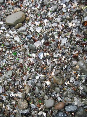 Sea Glass Beaches in Florida - Siesta Key near Sarasota