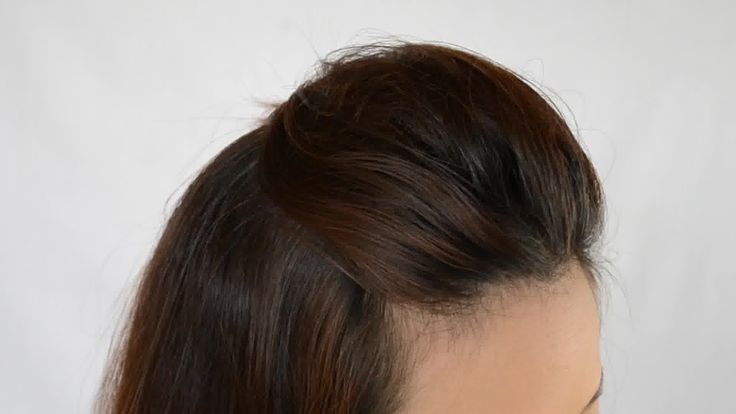 How to Back Comb Hair for more volume.