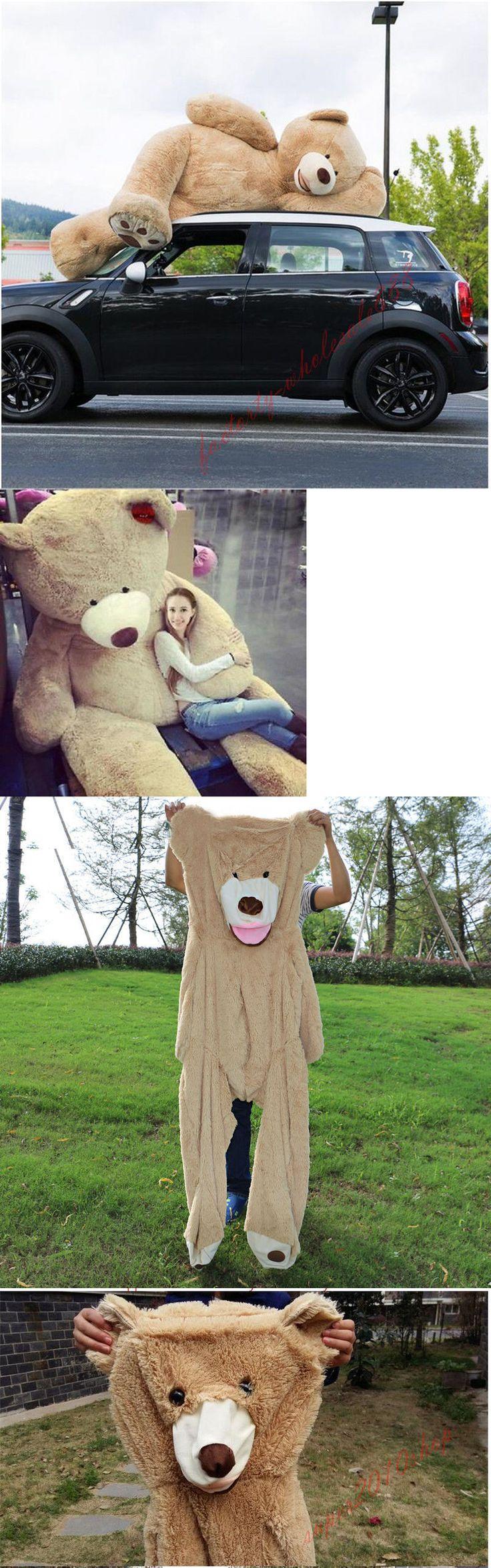 Toys for Baby 19068: 80Cm-340Cm Giant Bear Skin Toy American Bear Plush Teddy Bear Bearskin Gift -> BUY IT NOW ONLY: $39.5 on eBay!
