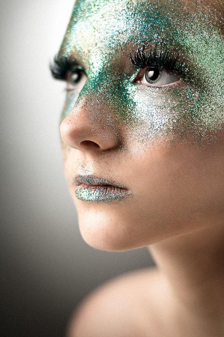 GLITTER!!!!  Model: Kaylie Nicole   Photographer: Dan Amezcua    https://www.facebook.com/aspenmckennamakeupartistry    https://www.facebook.com/dcaphotography