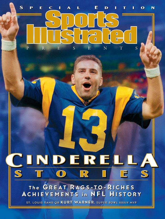 One of the greatest undrafted players in NFL history, No. 13 Kurt Warner won MVP awards in 1999 and 2001 and led the Rams to a championship title in Super Bowl XXXIV. His 414 passing yards against...