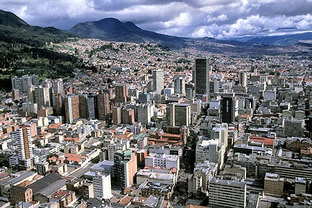 bogota, colombia where I was born and where a piece of my heart still is!!!