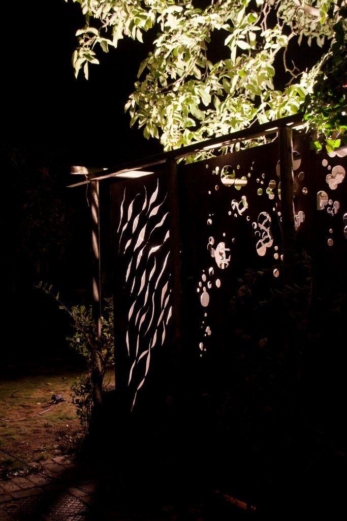 Tuinscherm als kunstwerk