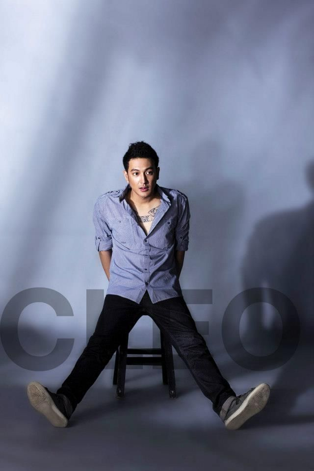 Dimas Anggara, CLEO Man Januari 2012