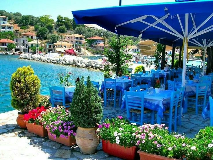 Meganissi islet, close to Lefkada island