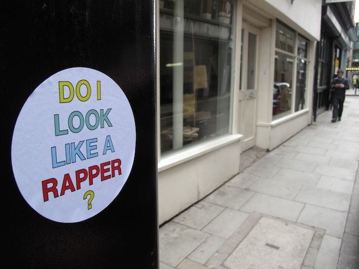 Hot Chip - Do I Look Like A Rapper? Stickers