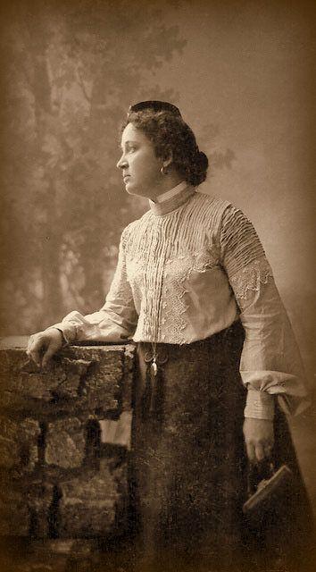 Tatars.  Ибатуллина Магипарваз Гареевна. Кунгур, 20 августа 1905 г.