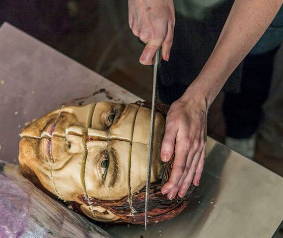 Life-Size Dexter Cake, I LOVE Dexter, this is sooo cool but really creepy at the same time lol!