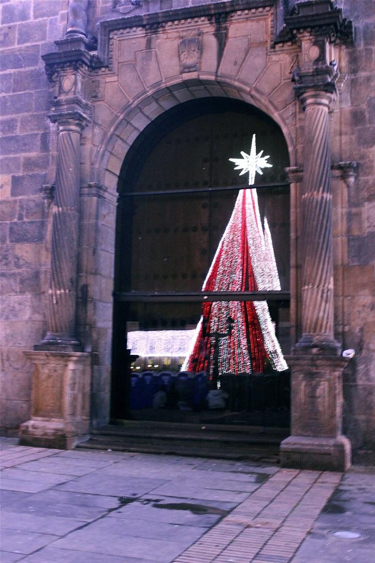 navidad plaza de bolívar, Bogotá Colombia
