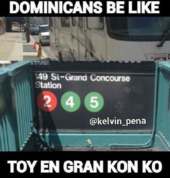 Dominicans be like .. Lmfaoooo!!