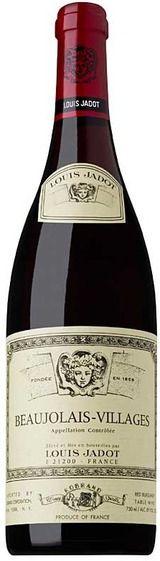 Louis Jadot Beaujolais Villages 2010. A delicious wine.