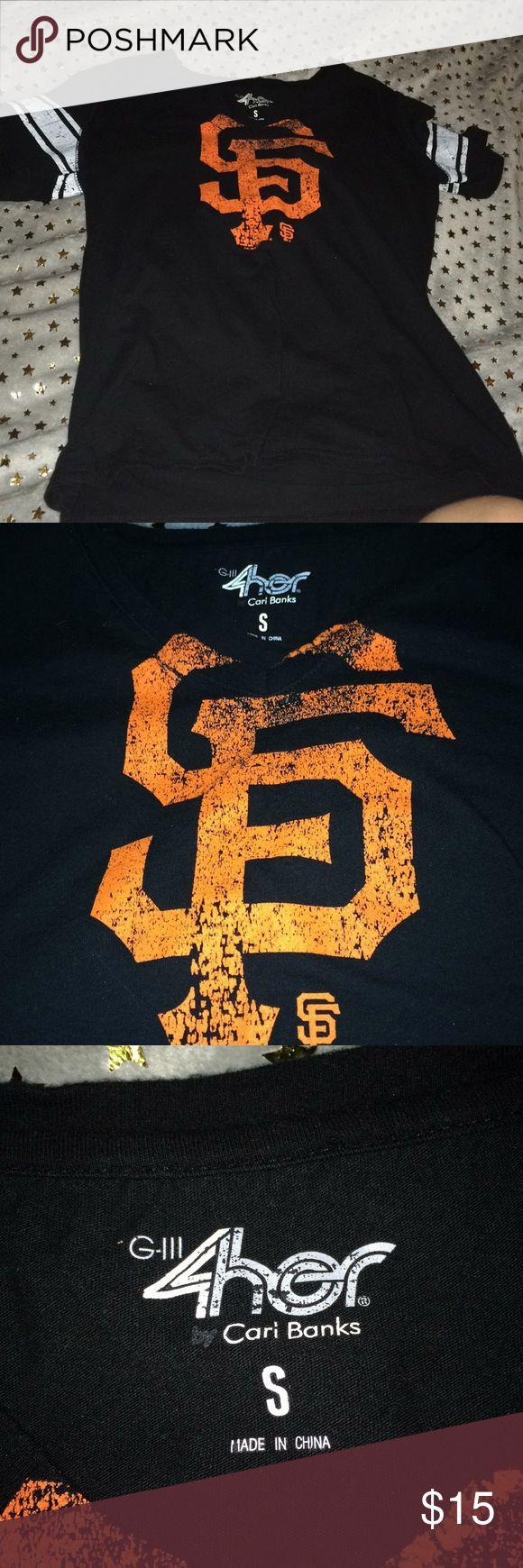 San Francisco giants shirt Sf giants shirt hardly worn Tops Tees - Short Sleeve
