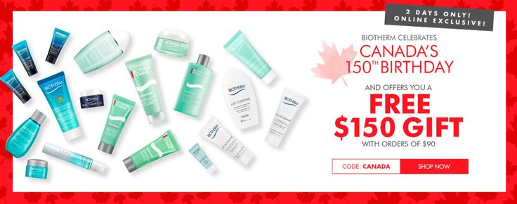 Biotherm Canada Online Offers: Get FREE $150 Gift with Order of $90. http://www.lavahotdeals.com/ca/cheap/biotherm-canada-online-offers-free-150-gift-order/218420?utm_source=pinterest&utm_medium=rss&utm_campaign=at_lavahotdeals