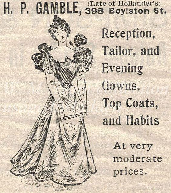 1896 advertisement. | Flickr - Photo Sharing!