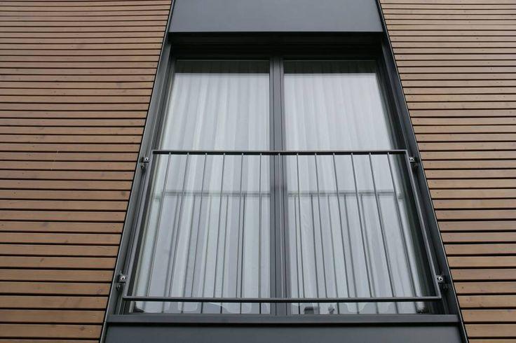 Absturzsicherung vor Fenster