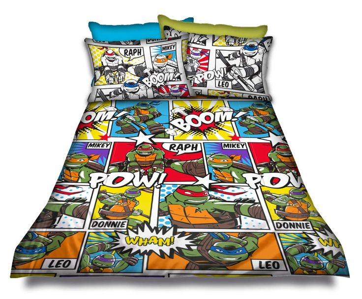 Single Ninja Turtle duvet set @ R375  For more info & orders, email SweetArtBfn@gmail.com or call 0712127786 (SA Shipping available @ R45)
